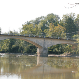 Panhandle Road Bridge over the Olentangy River (Delaware Township)